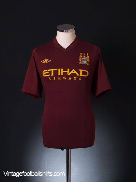 2012-13 Manchester City Away Shirt M