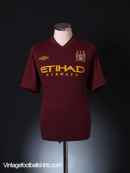 2012-13 Manchester City Away Shirt XL