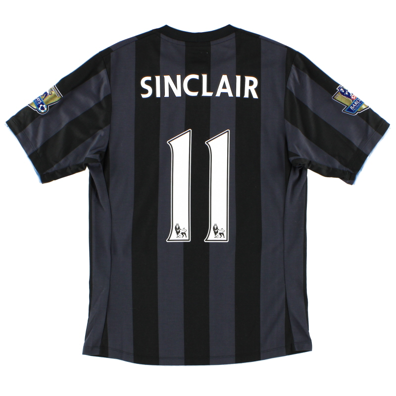 2012-13 Manchester City Third Shirt Sinclair #11 XS