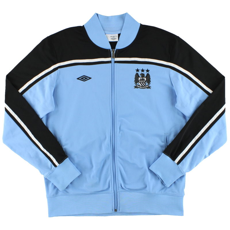 2012-13 Manchester City Umbro Track Jacket *Mint* L