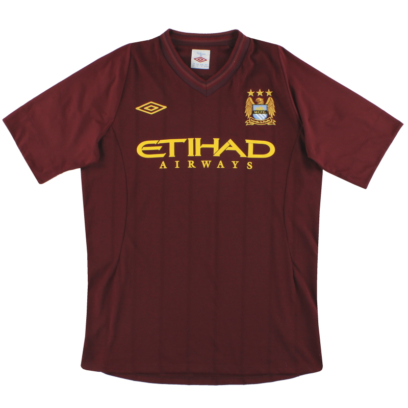 2012-13 Manchester City Umbro Away Shirt M