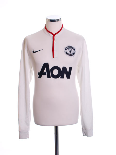 2012-13 Manchester United Away Shirt L/S M