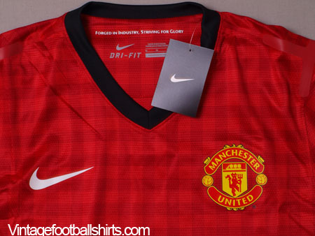 9af1da88c5c9 2012-13 Manchester United Player Issue Home Shirt L S  BNWT  for sale