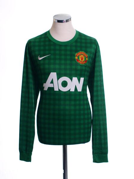 2012-13 Manchester United Goalkeeper Shirt L