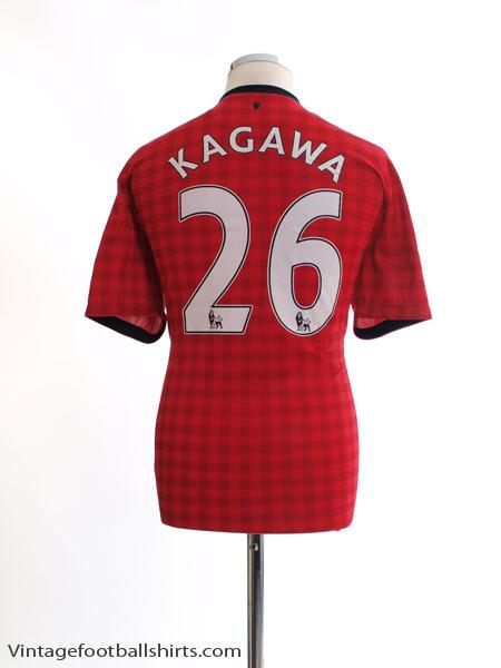 2012-13 Manchester United Home Shirt Kagawa #26 L - 479278-623