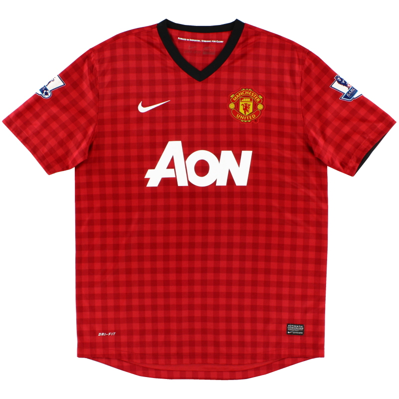 2012-13 Manchester United Home Shirt L - 479278-623