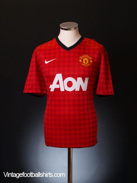 2012-13 Manchester United Home Shirt XL