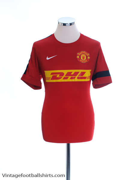 2012-13 Manchester United Nike Training Shirt M - 518632-678
