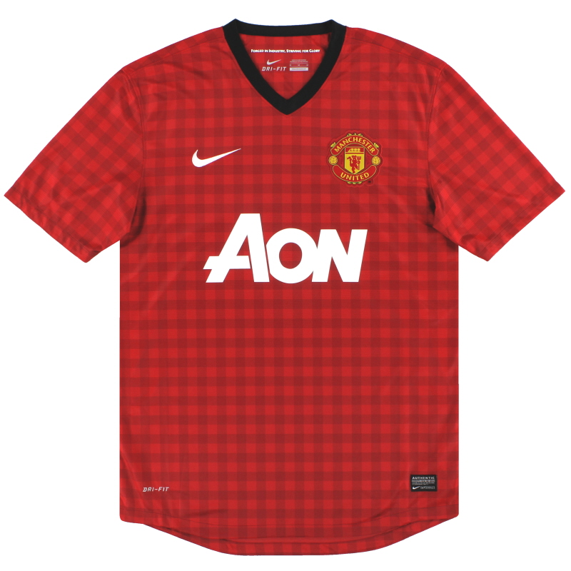 2012-13 Manchester United Nike Home Shirt XXL - 479278-623