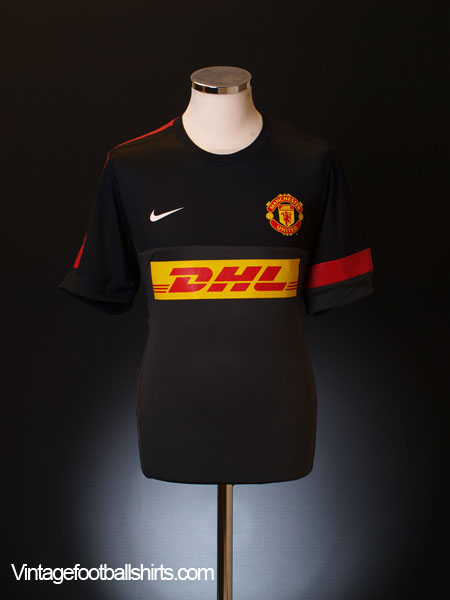 2012-13 Manchester United Nike Dri-Fit Player Issue Training Shirt *BNWT* L
