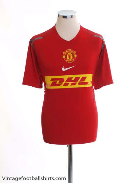 2012-13 Manchester United Player Issue Pre-Match Training Shirt M