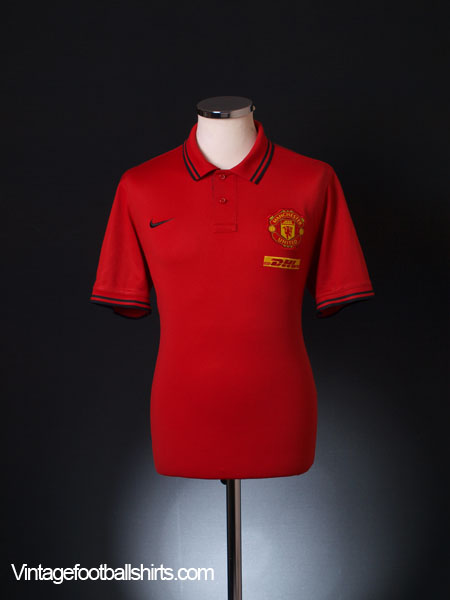 2012-13 Manchester United Polo Shirt L