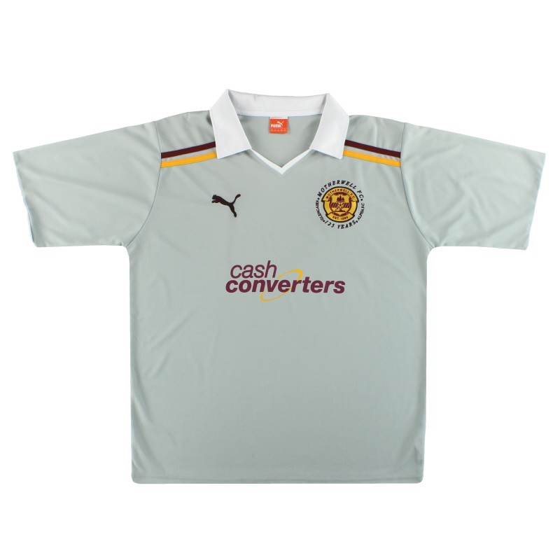 2012-13 Motherwell Puma '125 Years' Away Shirt XXL