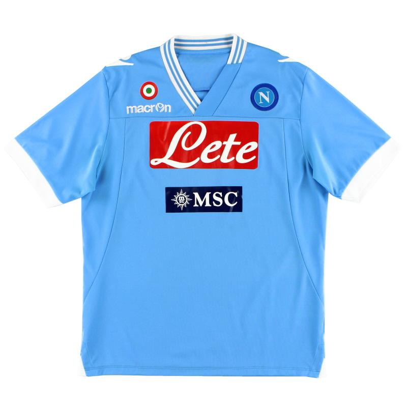 2012-13 Napoli Home Shirt L