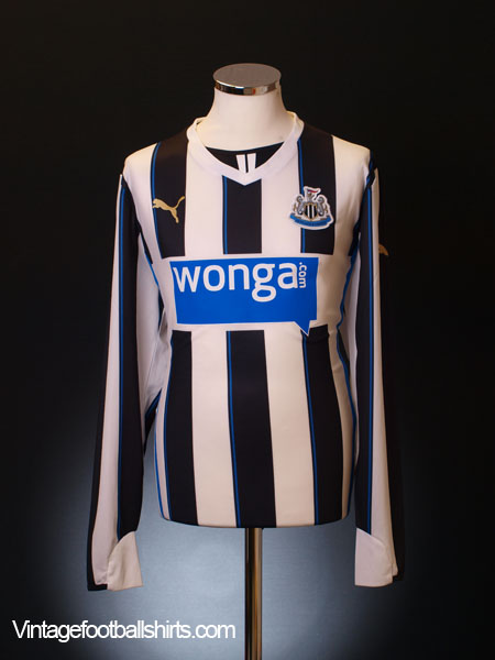 2013-14 Newcastle Home Shirt L/S *As new* L