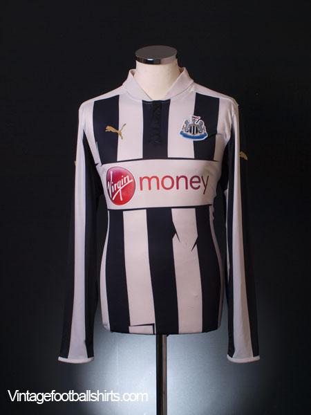 2012-13 Newcastle Home Shirt L/S M