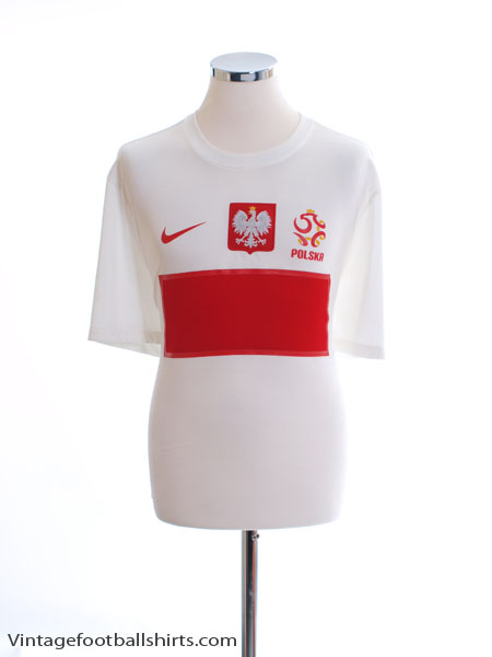 2012-13 Poland Home Shirt XL