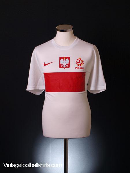 2012-13 Poland Stadium Home Shirt *BNIB*