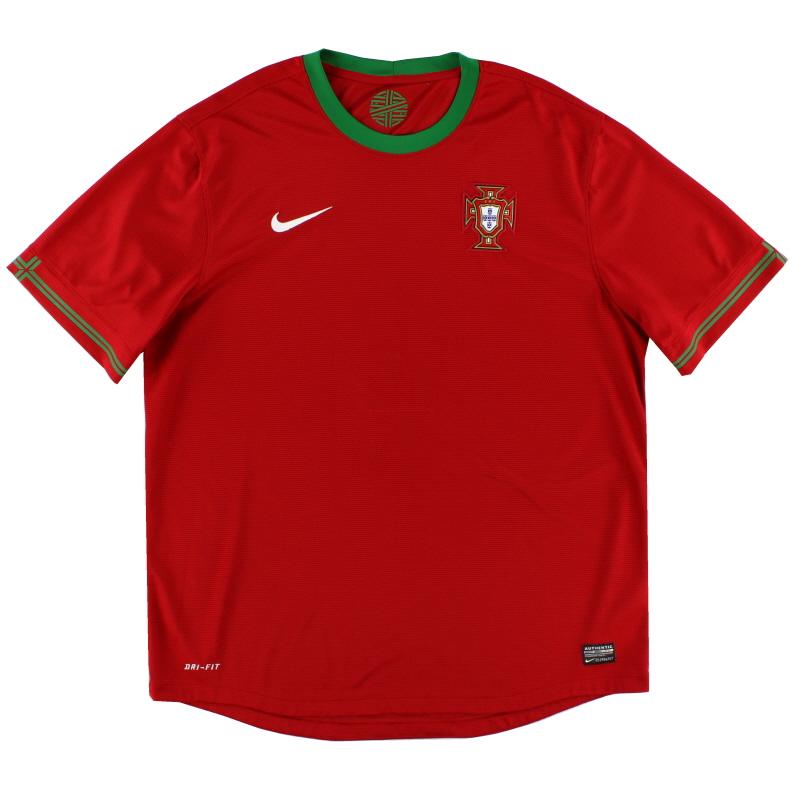 2012-13 Portugal Home Shirt XL - 447883-638