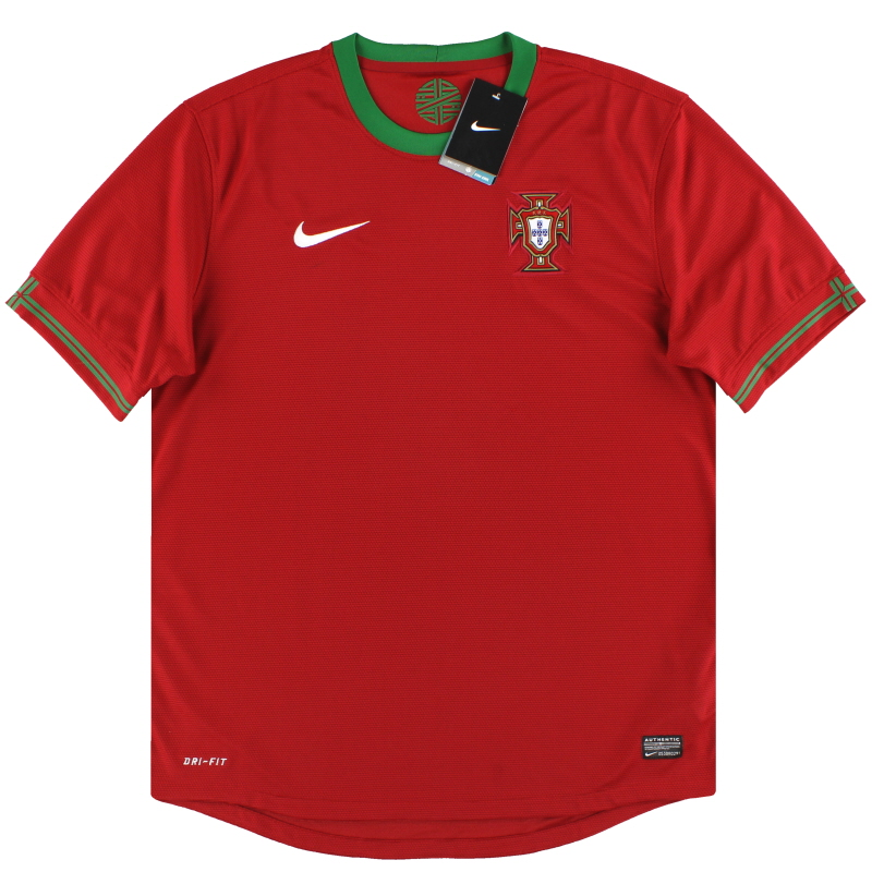 2012-13 Portugal Nike Home Shirt *w/tags* XXL - 447883-638
