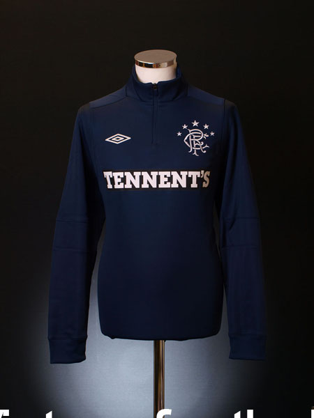 2012-13 Rangers Umbro Half Zip Training Top *BNWT* L