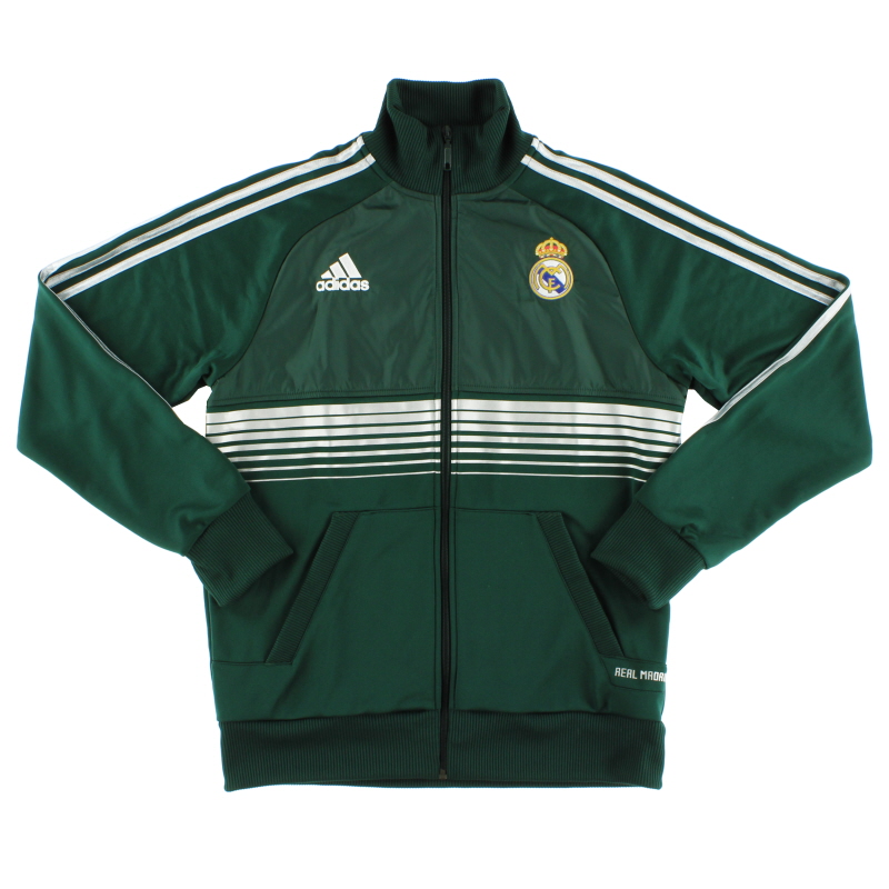 2012-13 Real Madrid adidas Anthem Track Jacket *As New* M - Z10454