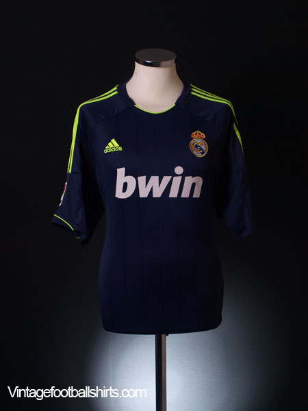 2012-13 Real Madrid Away Shirt M
