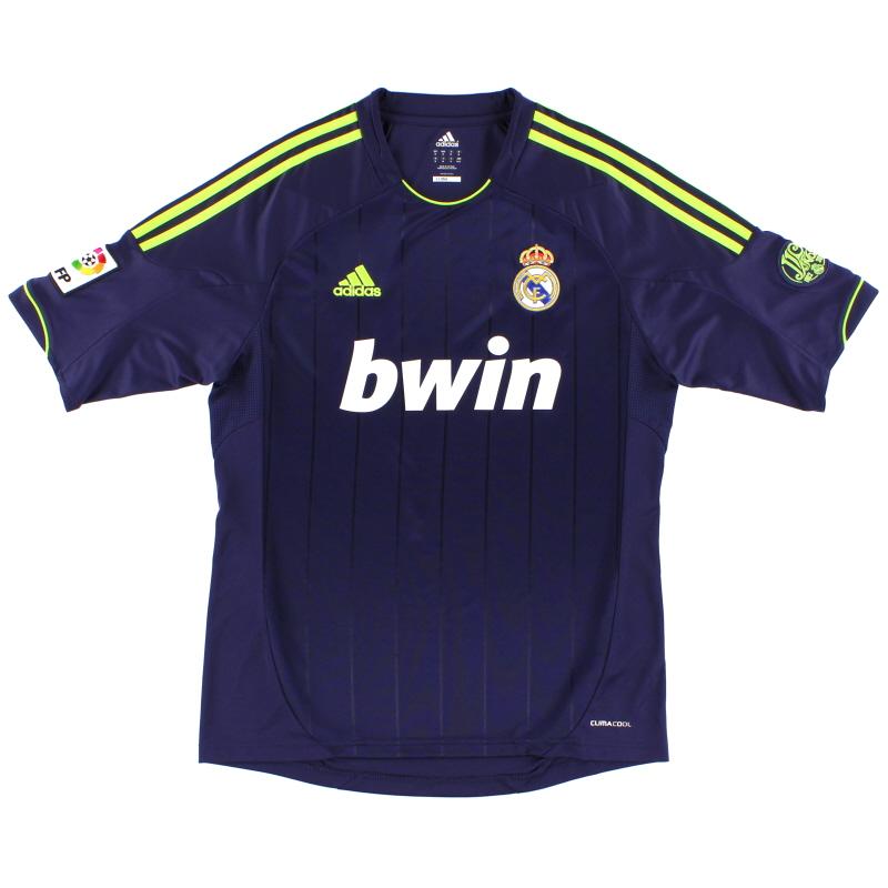 2012-13 Real Madrid adidas Away Shirt S - X21992