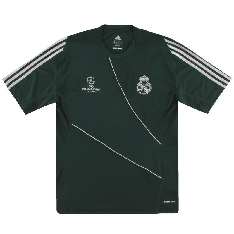 2012-13 Real Madrid Champions League Training Shirt *Mint* M - Z10090