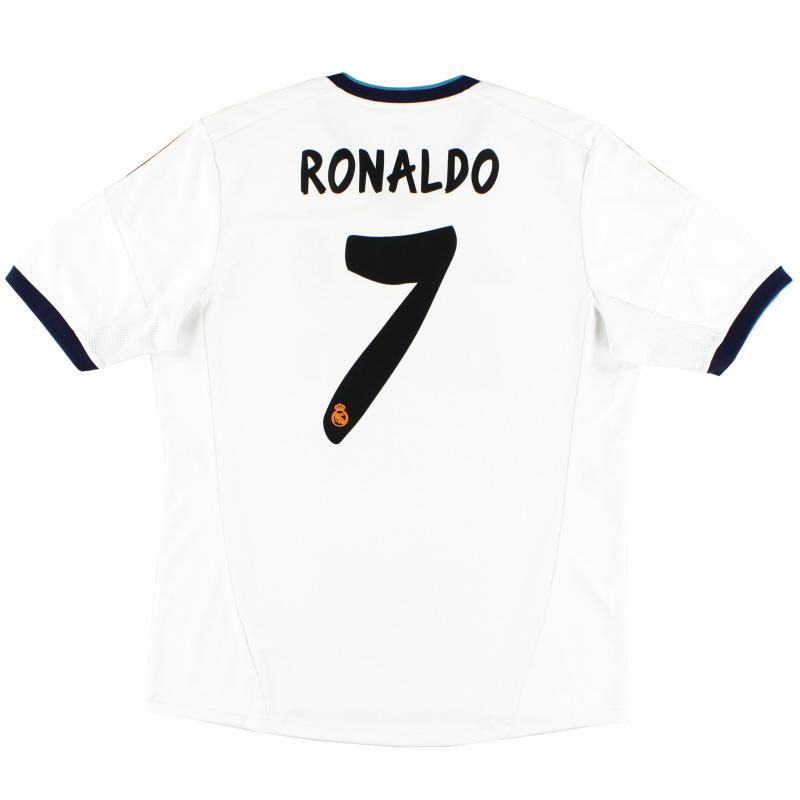 2012-13 Real Madrid Home Shirt Ronaldo #7 L - X21987
