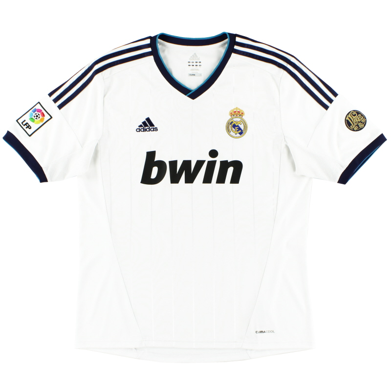 2012-13 Real Madrid Home Shirt *Mint* XXL - X21987