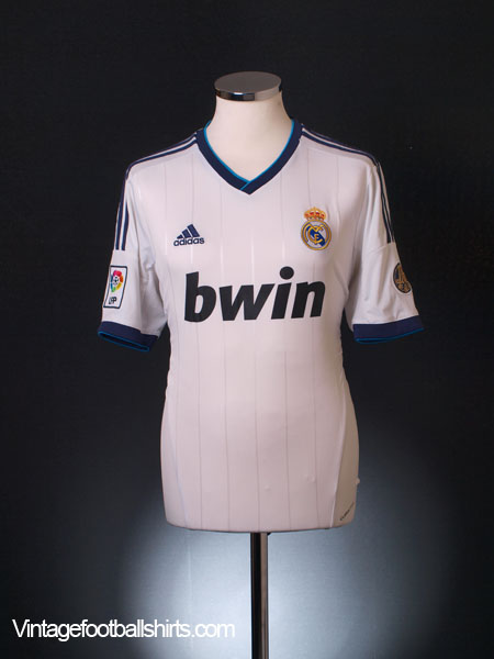 2012-13 Real Madrid Home Shirt M