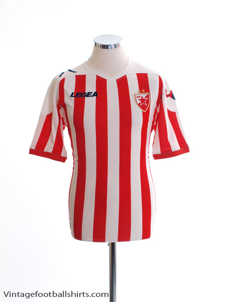 2012-13 Red Star Belgrade Home Shirt L