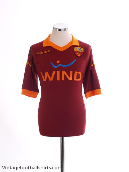 2012-13 Roma Home Shirt XL