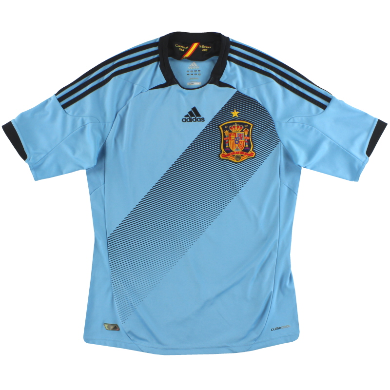 2012-13 Spain adidas Away Shirt *Mint* M - X11346