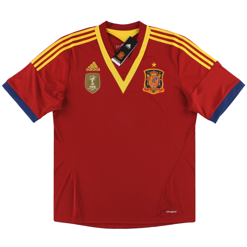 2012-13 Spain adidas Home Shirt *BNIB* XL - X53272