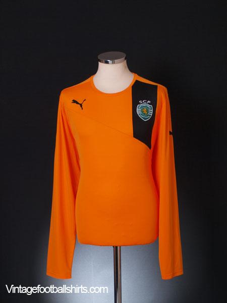 2012-13 Sporting Lisbon Away Shirt *Mint* L/S XXL