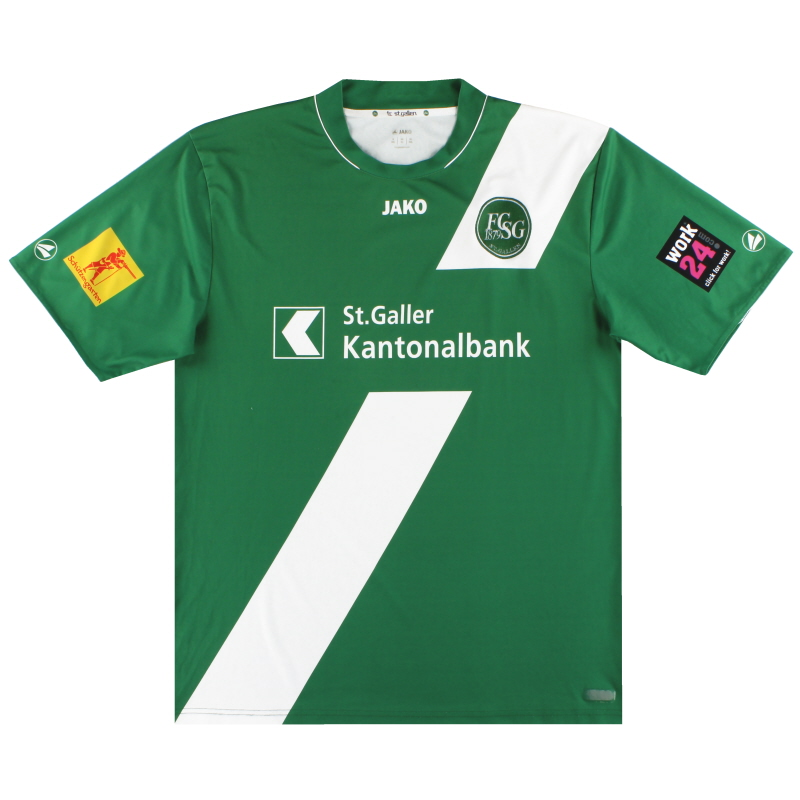 2012-13 St Gallen Jako Home Shirt XL - SG4212