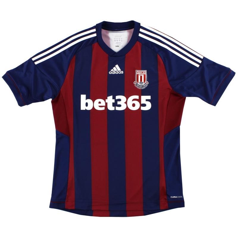 2012-13 Stoke City adidas '150 Years' Away Shirt M - X57142