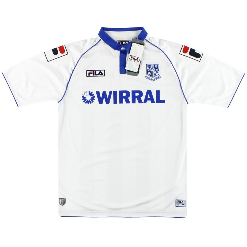 2012-13 Tranmere Rovers Fila Home Shirt *w/tags* L - FBF3638