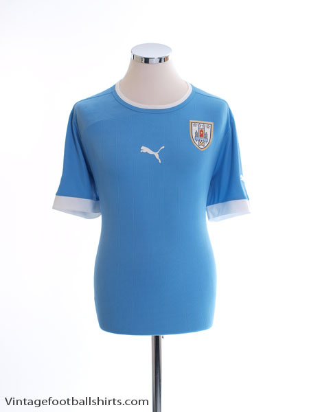 2012-13 Uruguay Home Shirt L - 741072