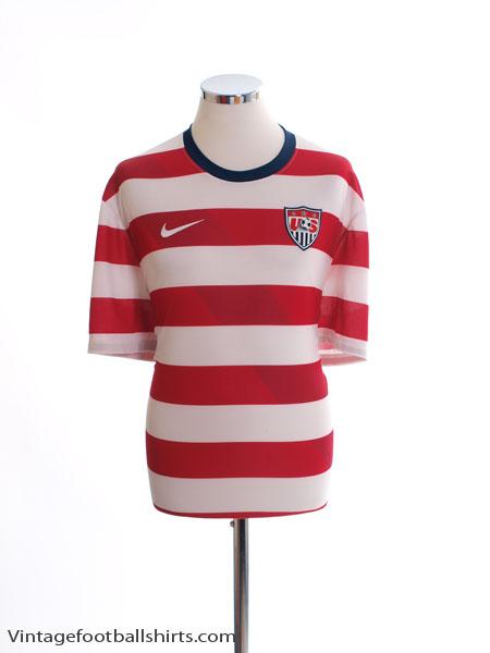 2012-13 USA Home Shirt S