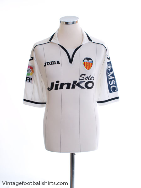 2012-13 Valencia Home Shirt L