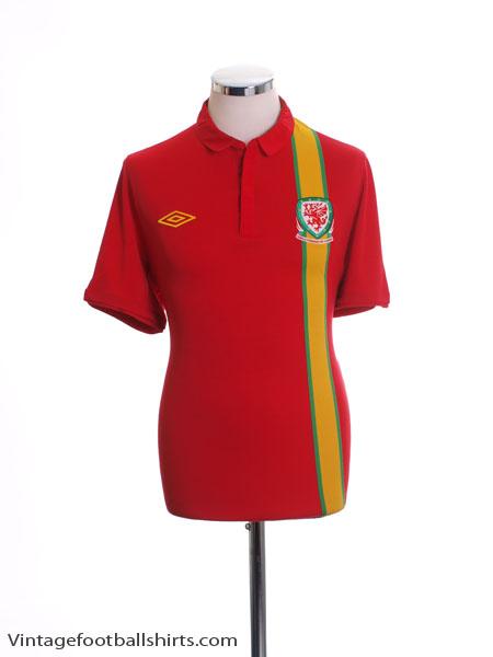 2012-13 Wales Home Shirt *BNIB* M.Boys
