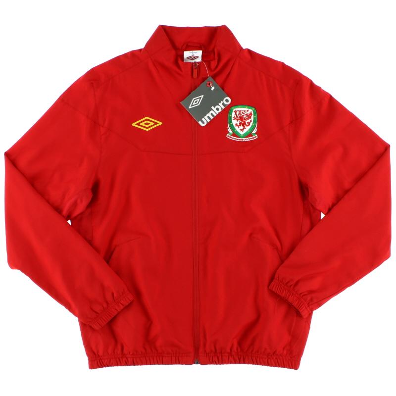 2012-13 Wales Umbro Track Jacket *w/tags* M - 72519U