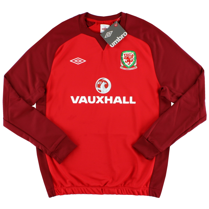 2012-13 Wales Umbro Training Sweat Top *BNIB* L  - 73864U