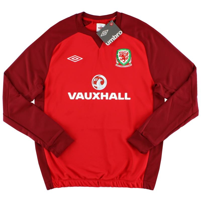 2012-13 Wales Umbro Training Sweat Top *w/tags* L  - 73864U