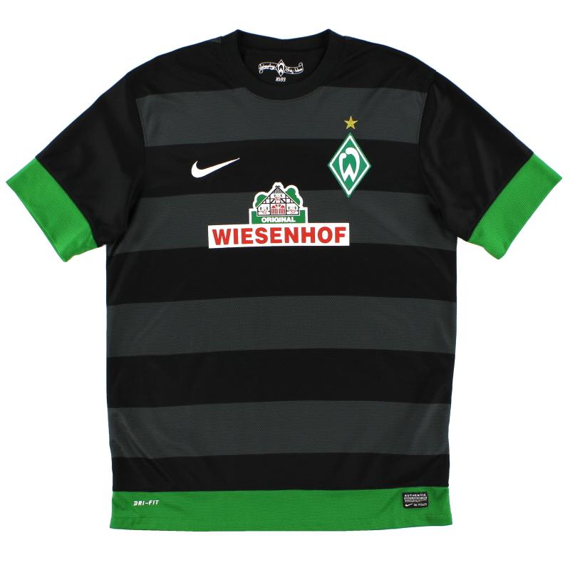 2012-13 Werder Bremen Away Shirt *Mint* S - 479844-010