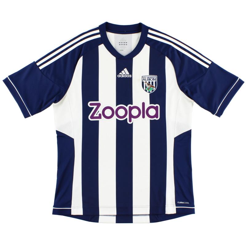 2012-13 West Brom Home Shirt L