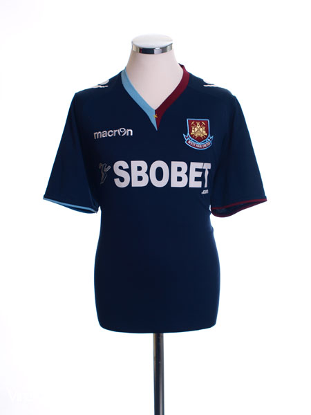 2012-13 West Ham Away Shirt M
